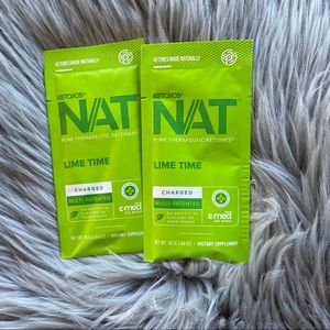 Pruvit Ketones Lime time NAT charged 2 packs